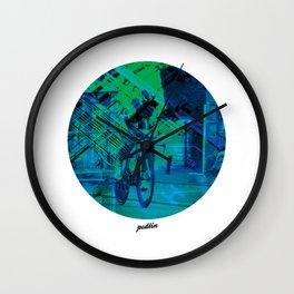 Greenedge Colours Wall Clock