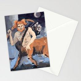 aries/sagittarius Stationery Cards