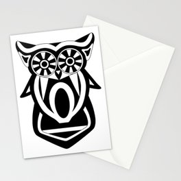 Black n' White Owla Stationery Cards