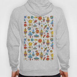Outer space cosmos pattern Hoody
