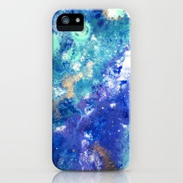 Muscida I - Abstract Costellation Painting iPhone Case