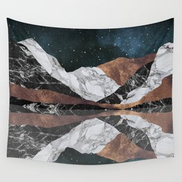Landscape Mountains Wall Tapestry