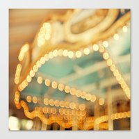 carnival Canvas Prints featuring carnival by Carl Christensen