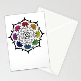 Om Mandala Stationery Cards