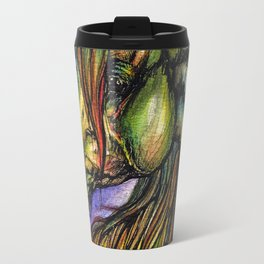 Rainbow horse Travel Mug