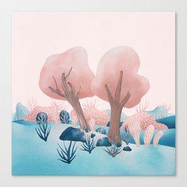 Winter landscapes 1 Canvas Print