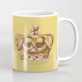 The King Elvis Pretzley - Pretzel Crown Coffee Mug