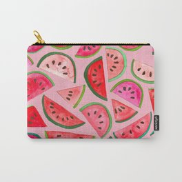 Pink Watermelon Carry-All Pouch