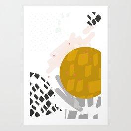 Waxing Moon Art Print