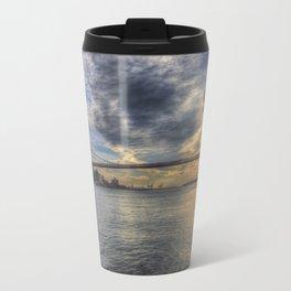 Brooklyn Bridge New York Sunset Travel Mug