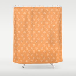 F&B Shower Curtain