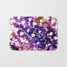 Purple Paint Bath Mat