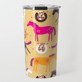 Lucky Horses Travel Mug