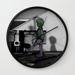 watch my step Wall Clock