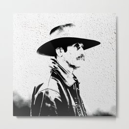 Cow boy Metal Print