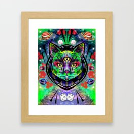 Kitteh Framed Art Print