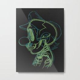 X-Ray of the Brick Breaker. Metal Print