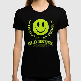 Old Skool Academy Rave Quote T-shirt