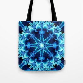 Crystal Light Mandala Tote Bag