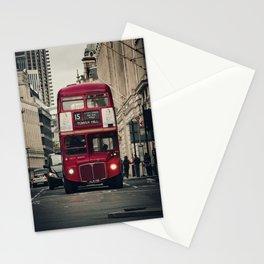 Vintage London Bus Stationery Cards