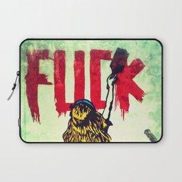Writing Fuck Laptop Sleeve