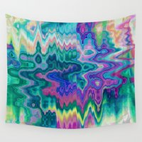 trippy Wall Tapestries featuring Trippy by Dorothy Pinder