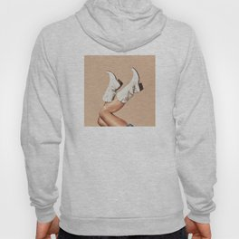 These Boots - Nude Hoody