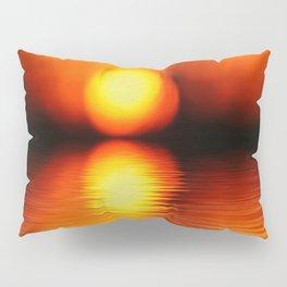 Sunset Abstract Pillow Sham