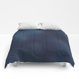 Mostly Midnight Subtle Dark Abstract Comforters