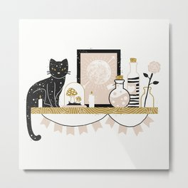 Magical Little Shelf Metal Print