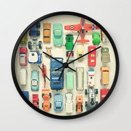 Free Parking Wall Clock