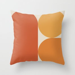 Retro 07A Throw Pillow