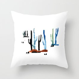 the desert VII Throw Pillow