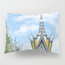 Killing Fields Memorial Stupa, Cambodia Pillow Sham