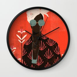 Image result for Afro painting clock