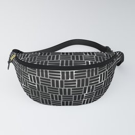 Metal rectangles discover Fanny Pack
