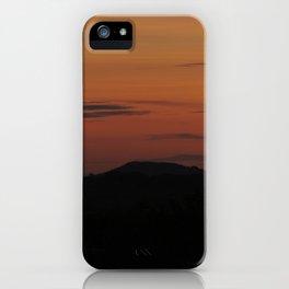 Somerset Sunset iPhone Case