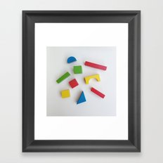 Shape of Things to Come Framed Art Print