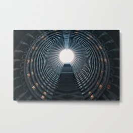 The core of Ponte City - Johannesburg Metal Print
