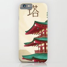 Pagoda - Painting iPhone 6s Slim Case