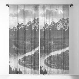 Winding River Sheer Curtain