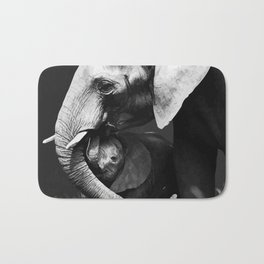 Elephants Love Bath Mat
