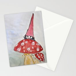 dwarf hiding Stationery Cards