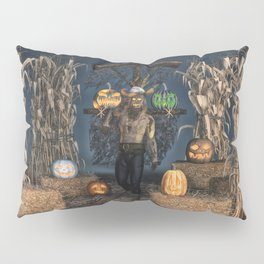 Scarecrow Reaper Pillow Sham