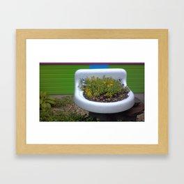 Flower Fountain 2 Framed Art Print