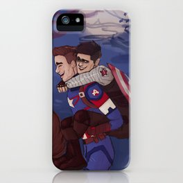 Spooky boyfriends and a bottle of ketchup iPhone Case