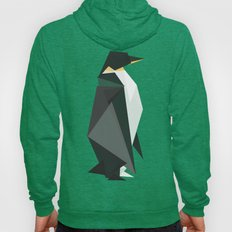 Fractal geometric emperor penguin Hoody
