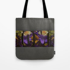 Floral HOME Tote Bag
