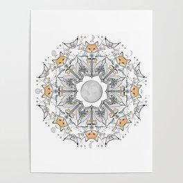 Pacific Mandala Poster