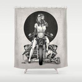 Winya No. 82 Shower Curtain